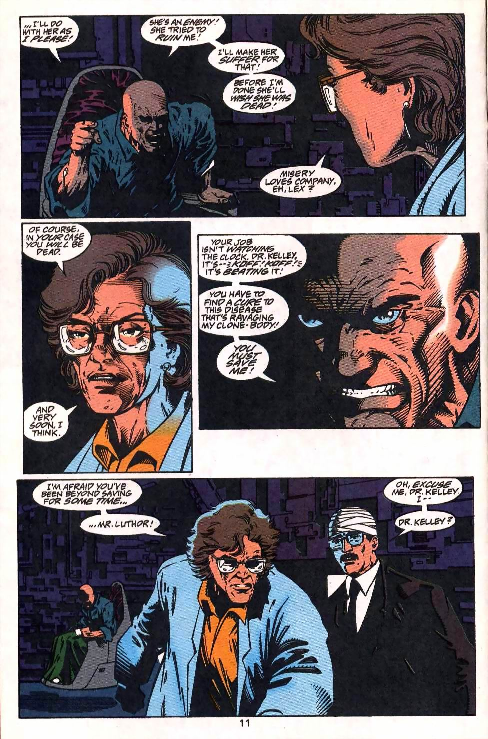 Read online Adventures of Superman (1987) comic -  Issue #512 - 12