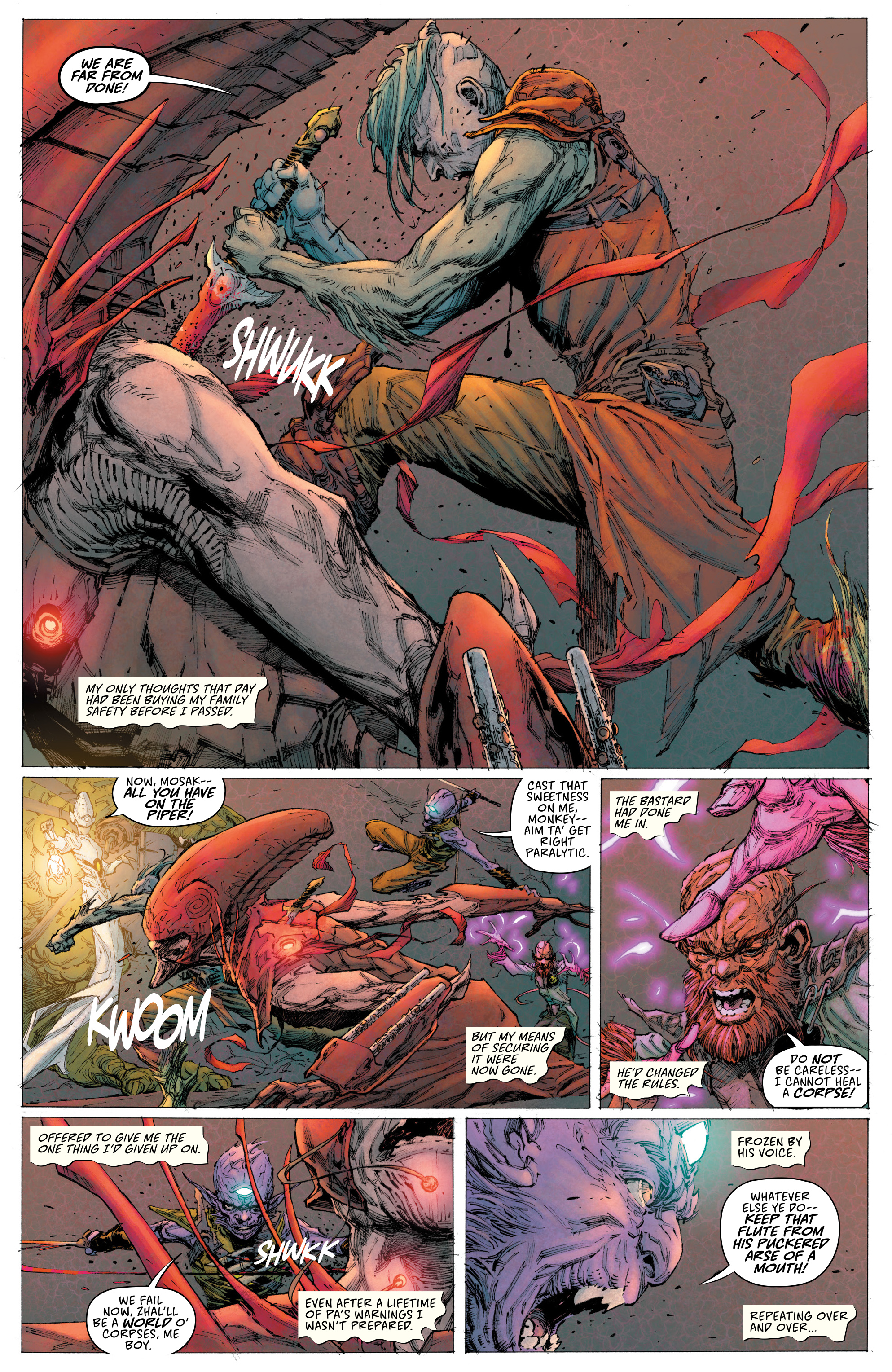 Read online Seven To Eternity comic -  Issue #3 - 11