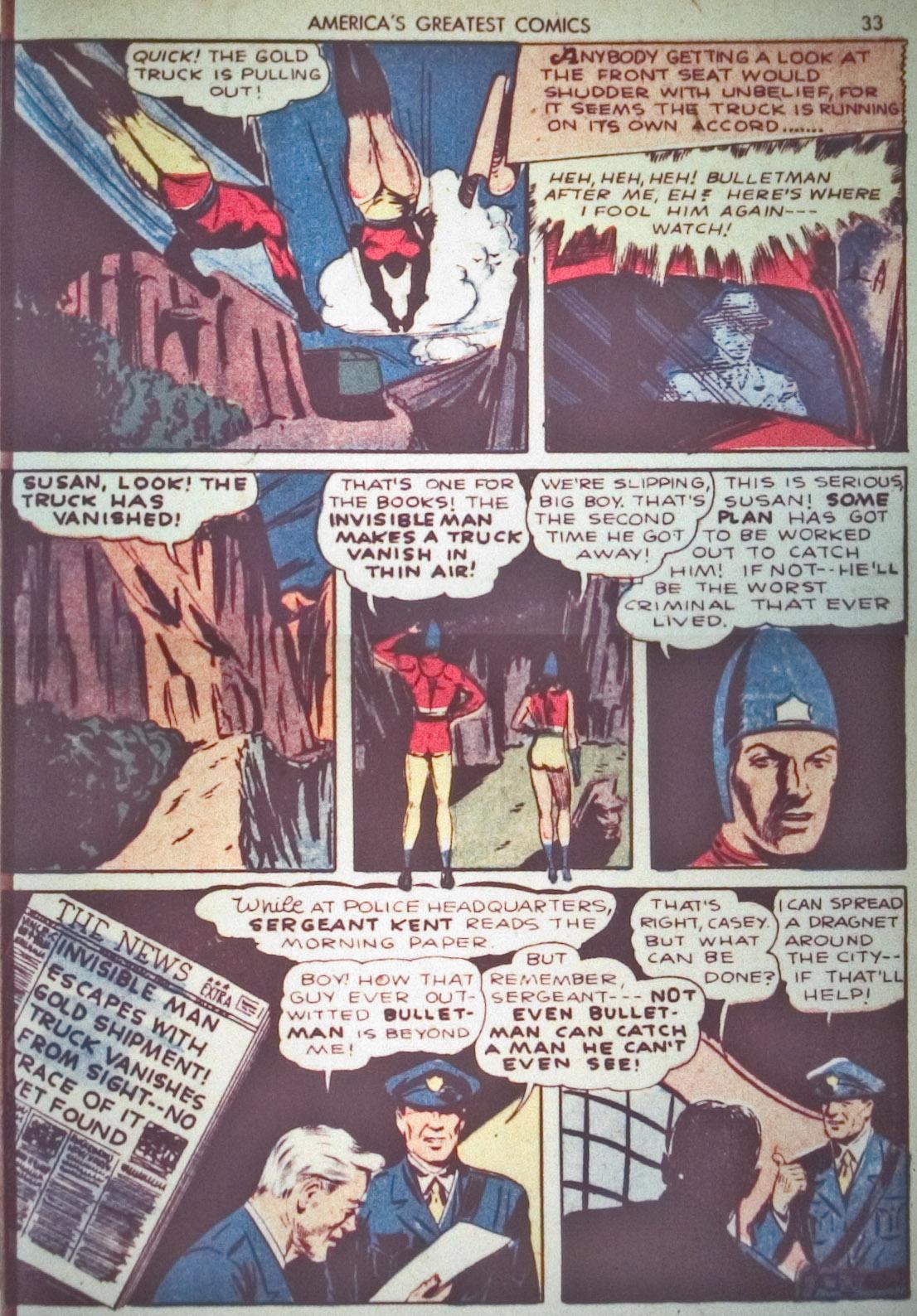 Read online America's Greatest Comics comic -  Issue #1 - 36
