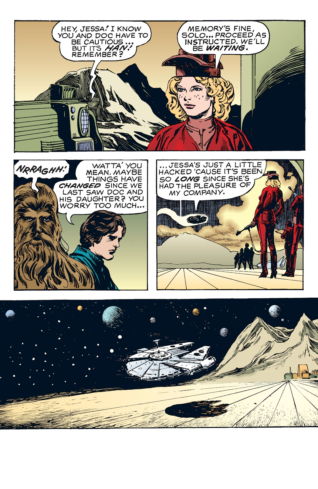 Read online Star Wars Legends: The Newspaper Strips - Epic Collection comic -  Issue # TPB (Part 4) - 10