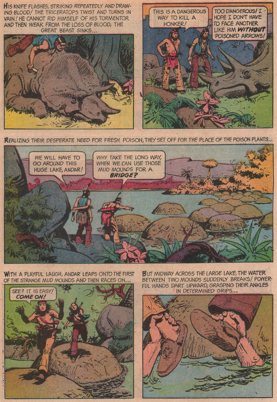 Read online Turok, Son of Stone comic -  Issue #51 - 5