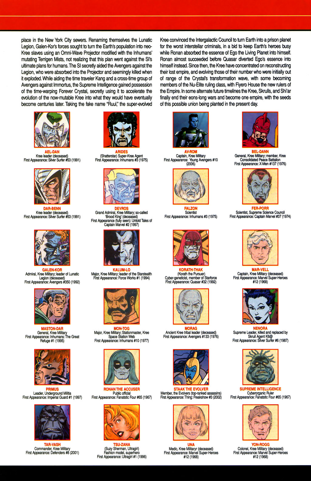 Read online All-New Official Handbook of the Marvel Universe A to Z comic -  Issue #6 - 24