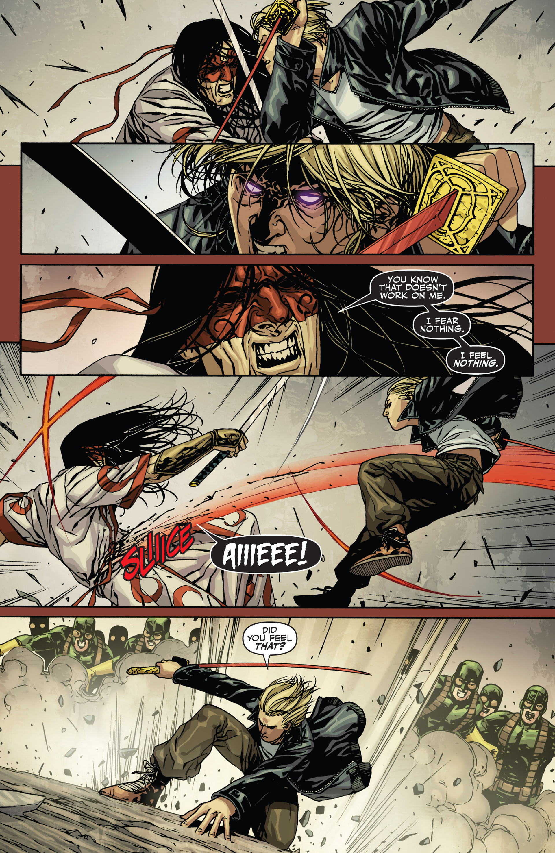 Read online Secret Warriors comic -  Issue #21 - 20