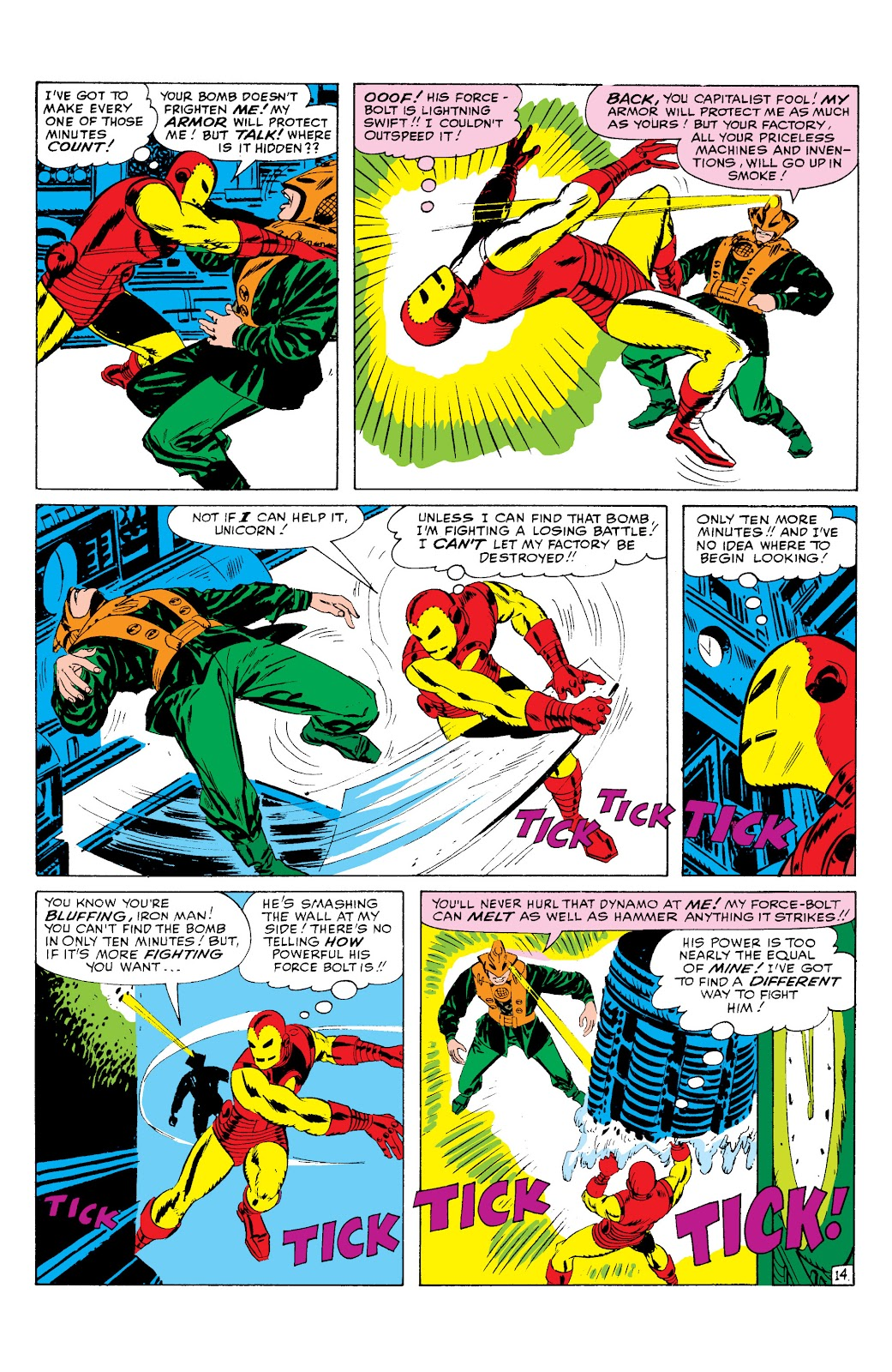 Read online Marvel Masterworks: The Invincible Iron Man comic -  Issue # TPB 2 (Part 1) - 95