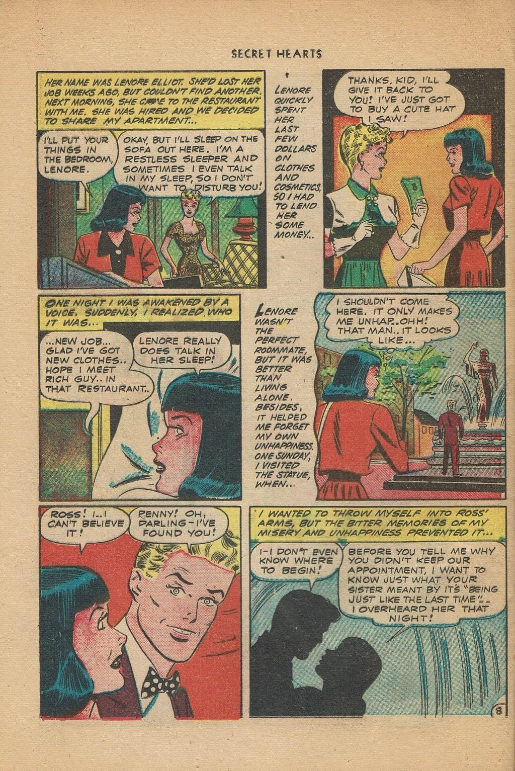 Read online Secret Hearts comic -  Issue #2 - 32