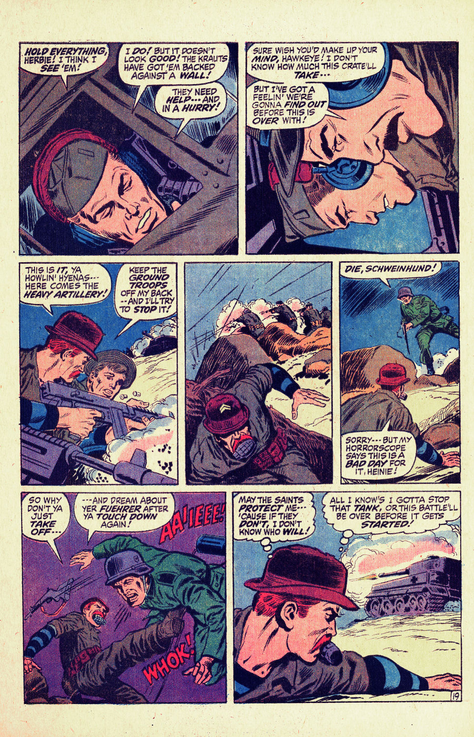 Read online Sgt. Fury comic -  Issue #96 - 28