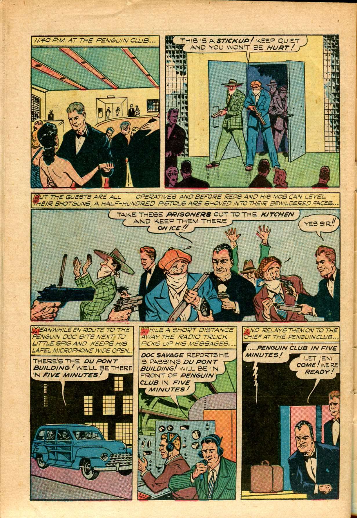 Read online Shadow Comics comic -  Issue #82 - 46