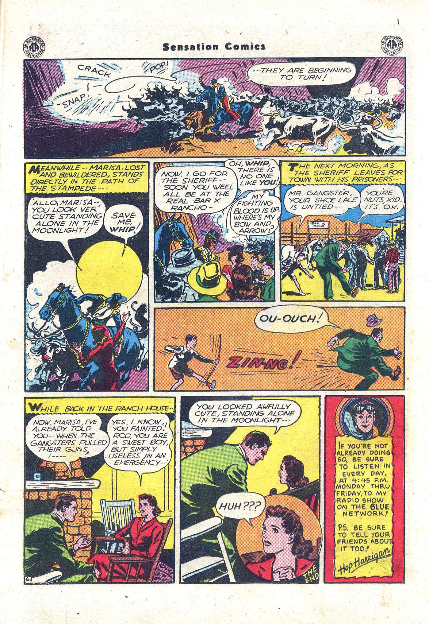 Read online Sensation (Mystery) Comics comic -  Issue #43 - 29