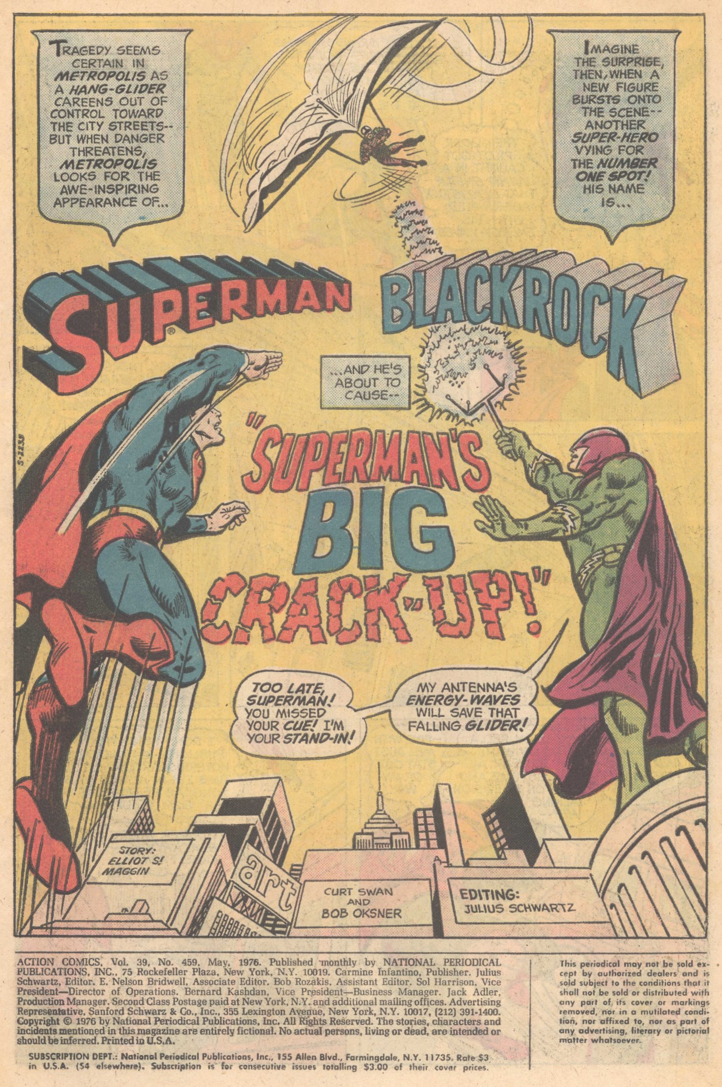 Read online Action Comics (1938) comic -  Issue #459 - 3