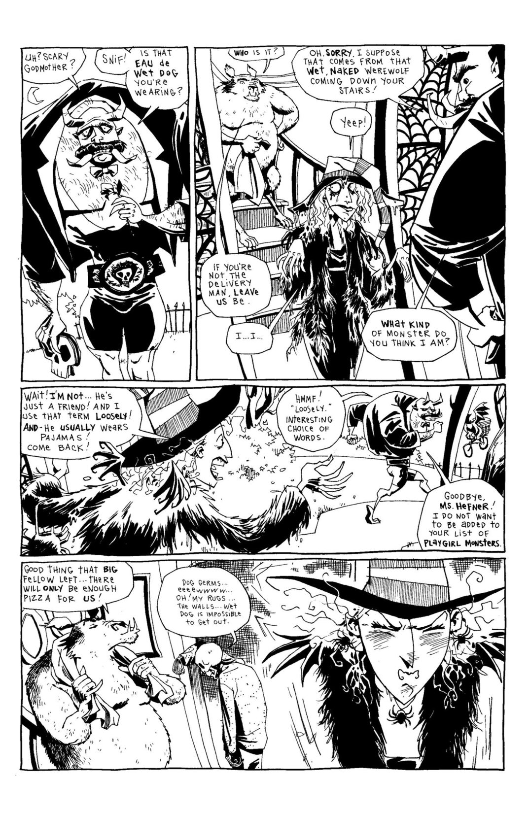 Read online Scary Godmother Comic Book Stories comic -  Issue # TPB - 113