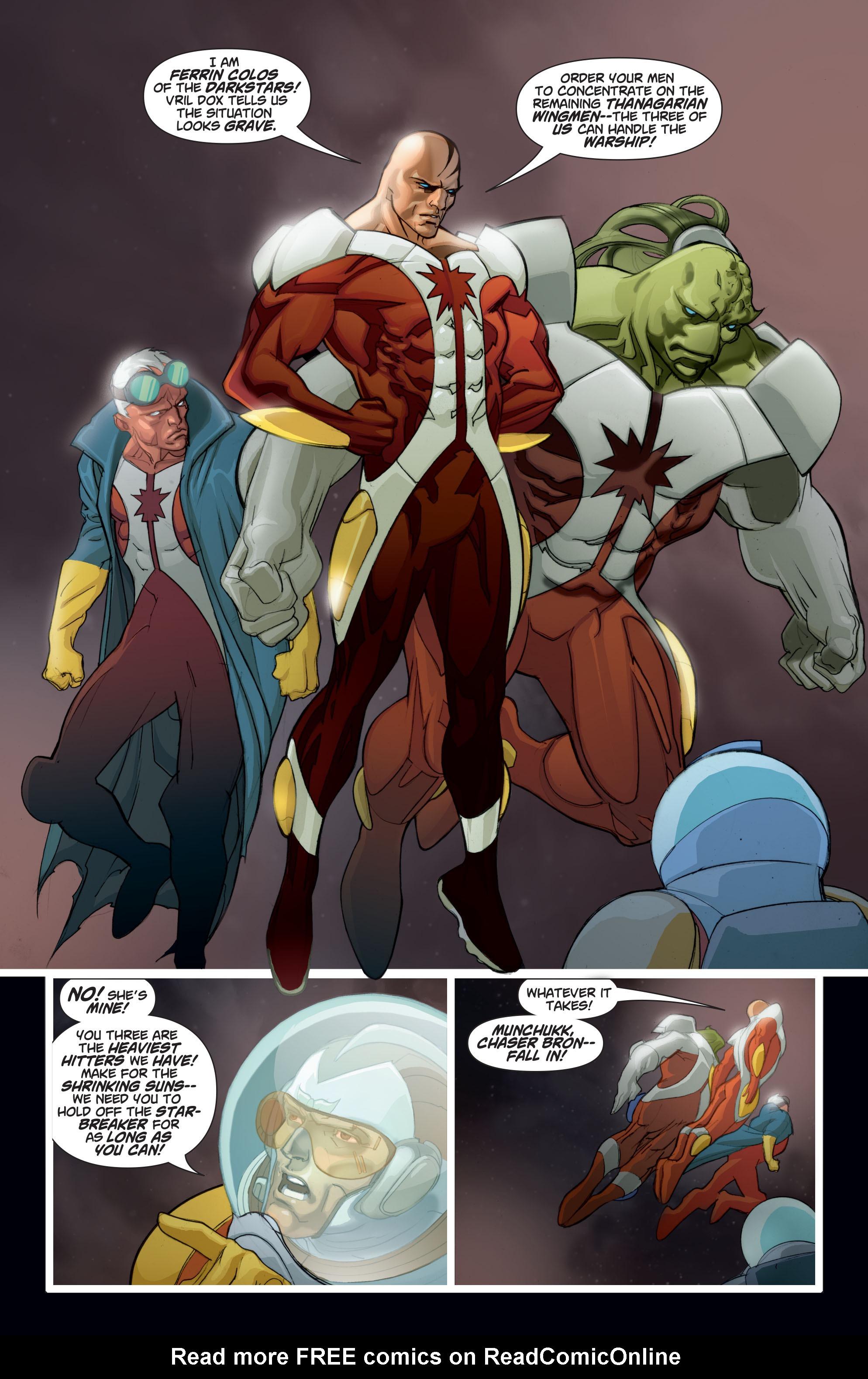 Read online Adam Strange (2004) comic -  Issue #8 - 6