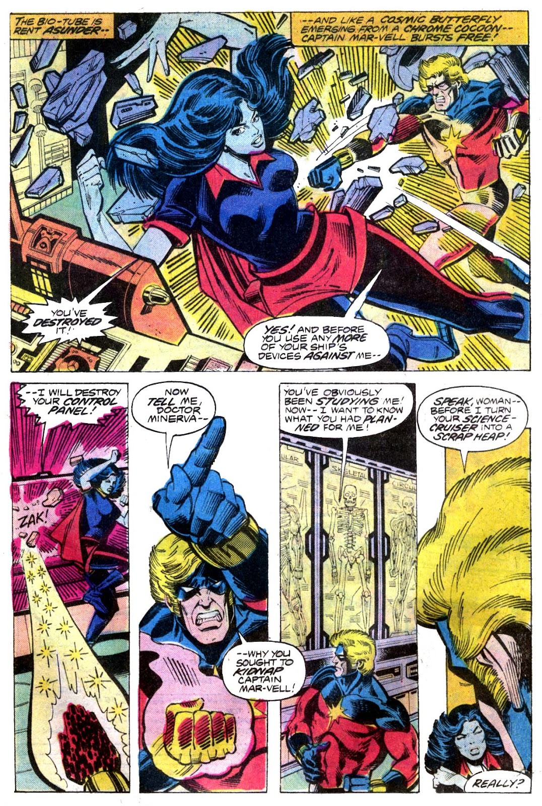 Captain Marvel (1968) issue 52 - Page 8