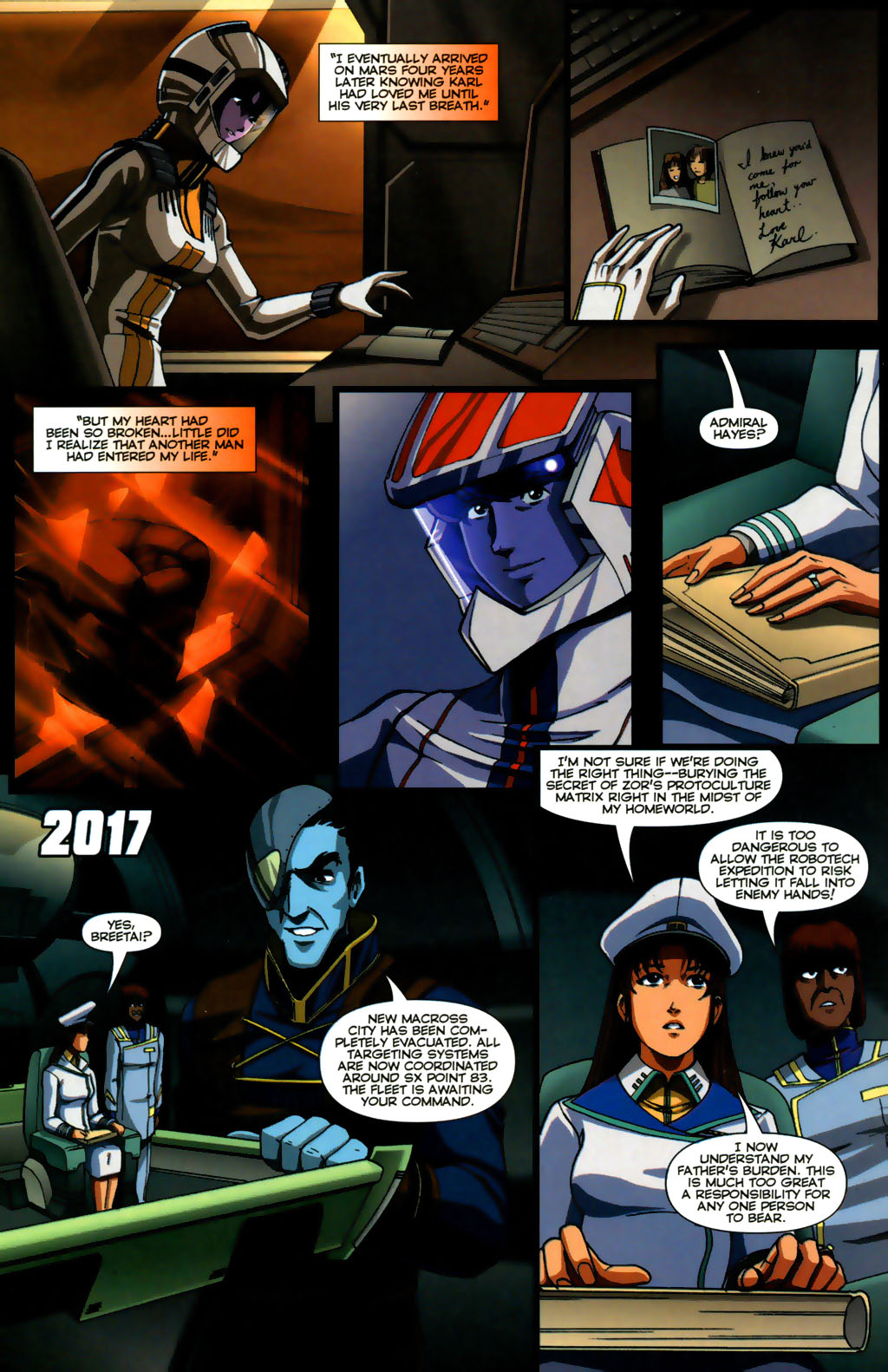 Read online Robotech: Invasion comic -  Issue #5 - 20