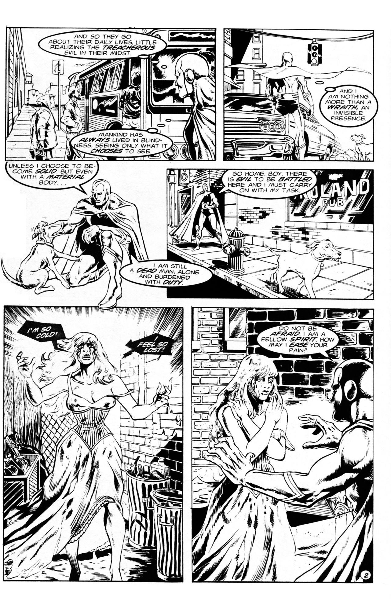 Read online Dr. Weird (1994) comic -  Issue #1 - 4