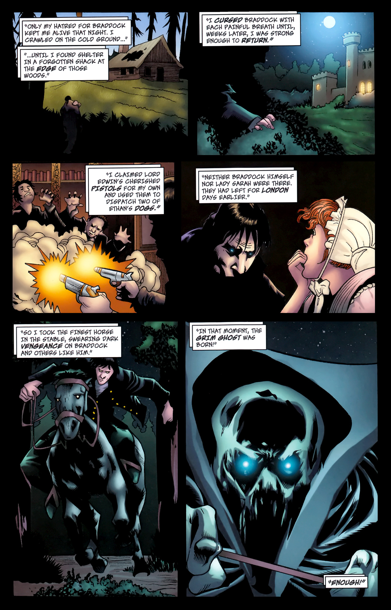 Read online The Grim Ghost comic -  Issue #2 - 15
