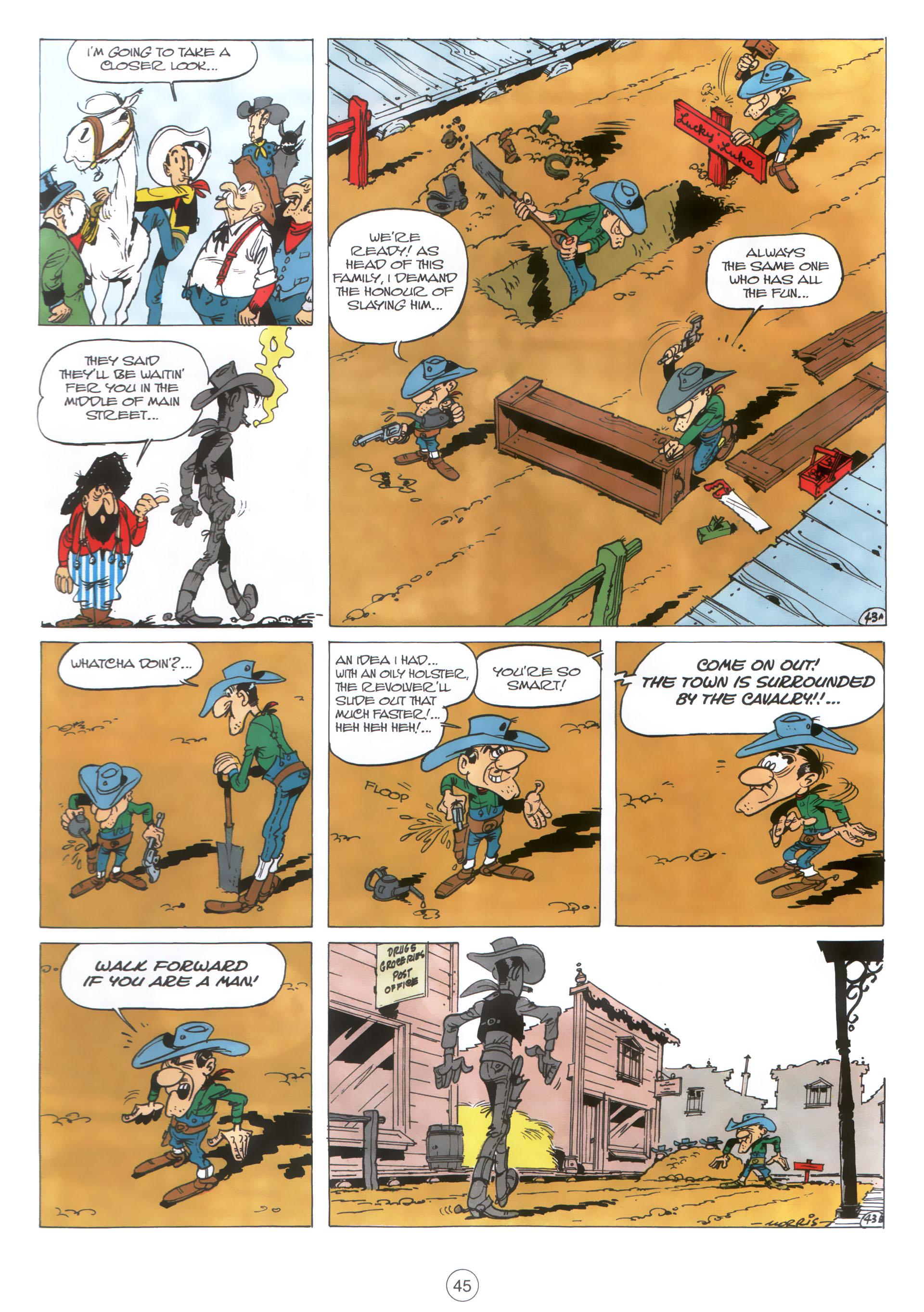 Read online A Lucky Luke Adventure comic -  Issue #30 - 44