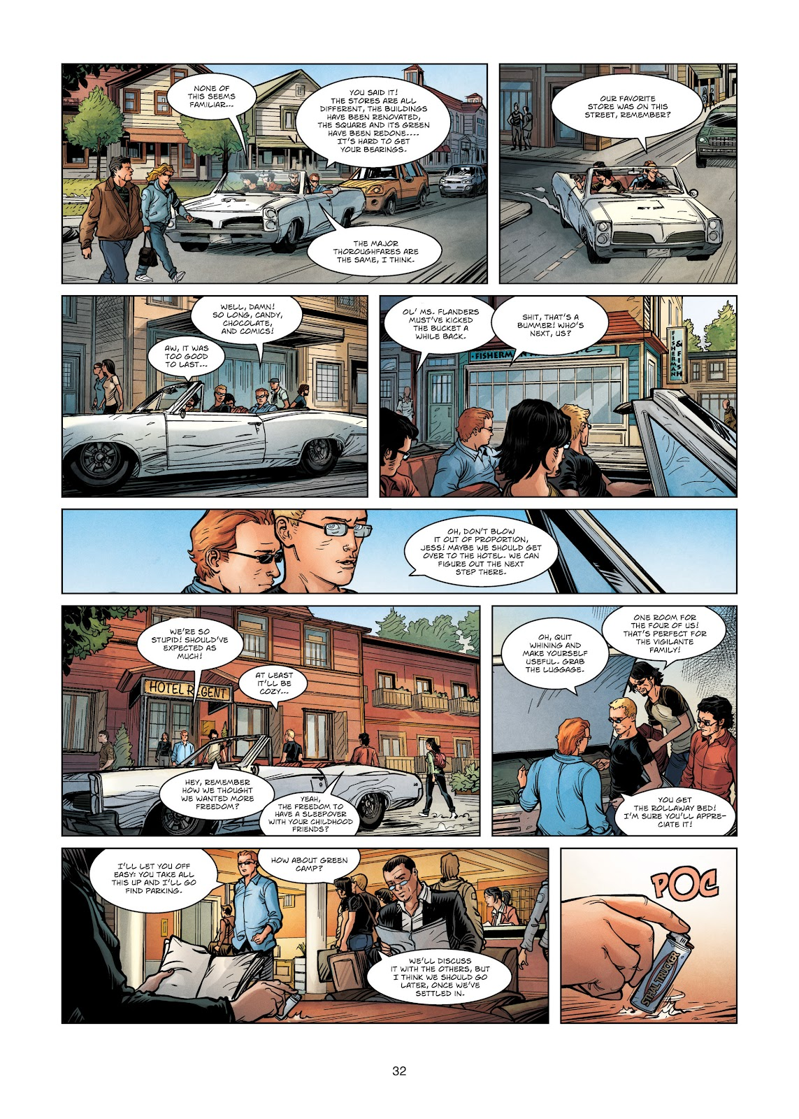 Read online Vigilantes comic -  Issue #3 - 32