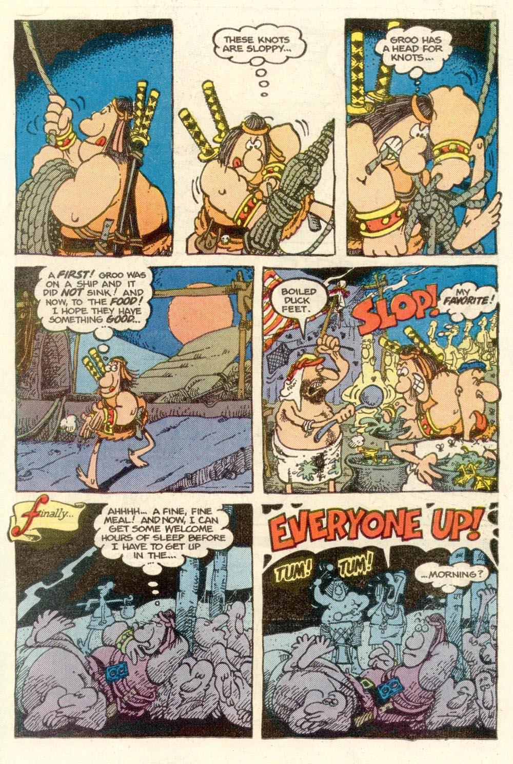 Read online Sergio Aragonés Groo the Wanderer comic -  Issue #14 - 13
