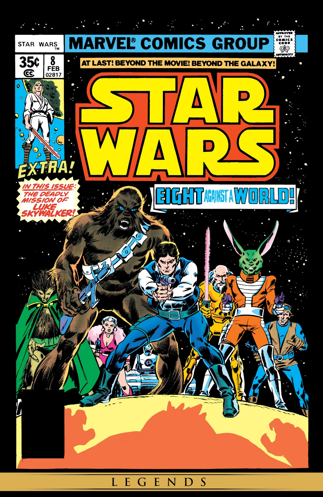 Read online Star Wars Legends: The Original Marvel Years - Epic Collection comic -  Issue # TPB 1 (Part 2) - 35