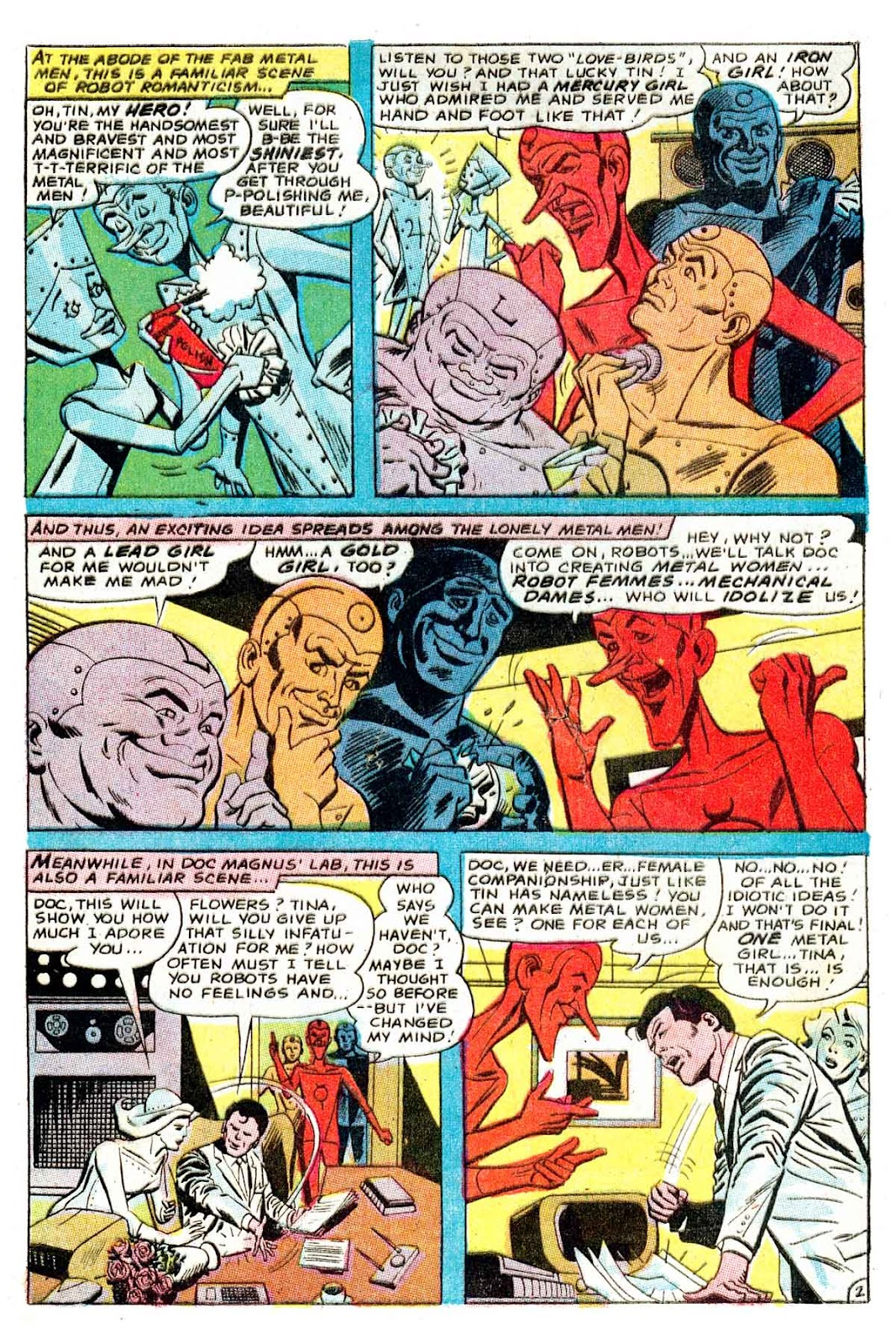 Metal Men (1963) issue 32 - Page 4