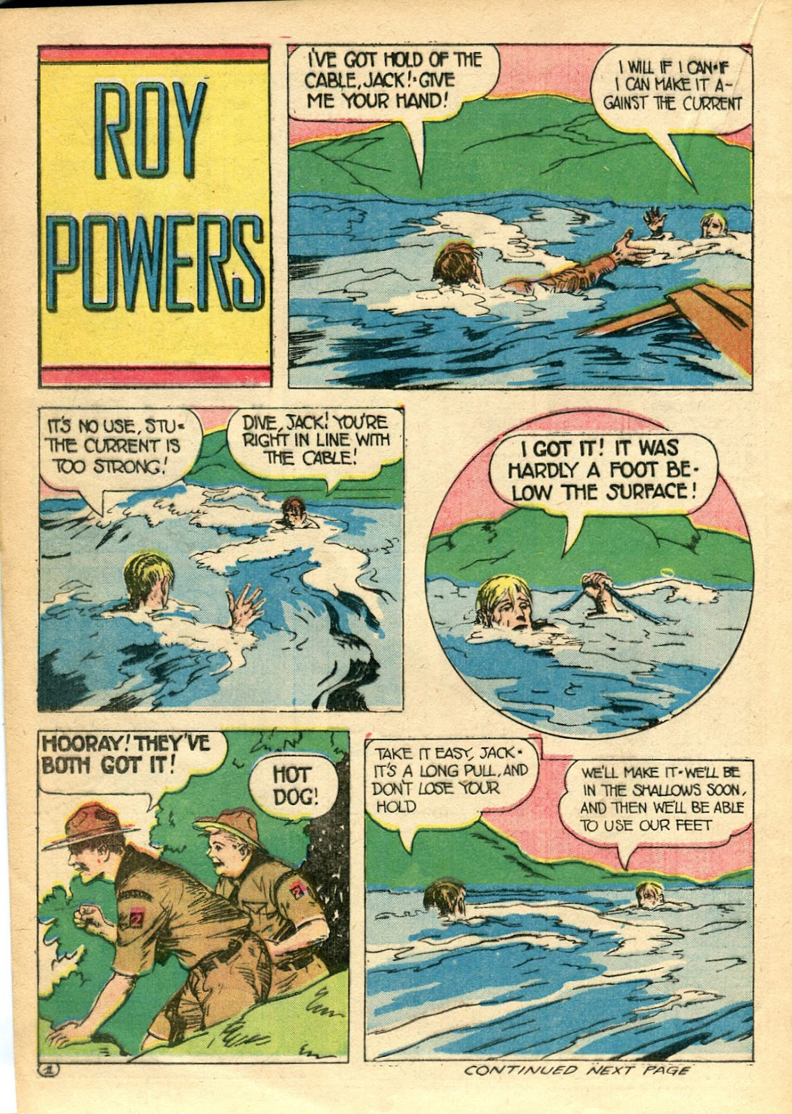 Read online Famous Funnies comic -  Issue #110 - 42