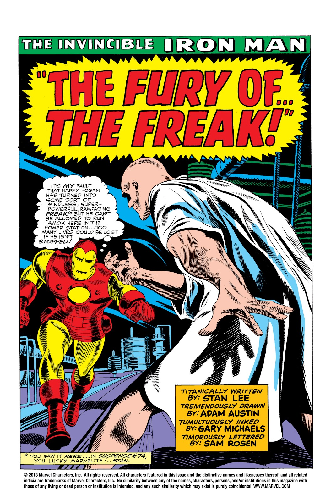 Read online Marvel Masterworks: The Invincible Iron Man comic -  Issue # TPB 3 (Part 3) - 11
