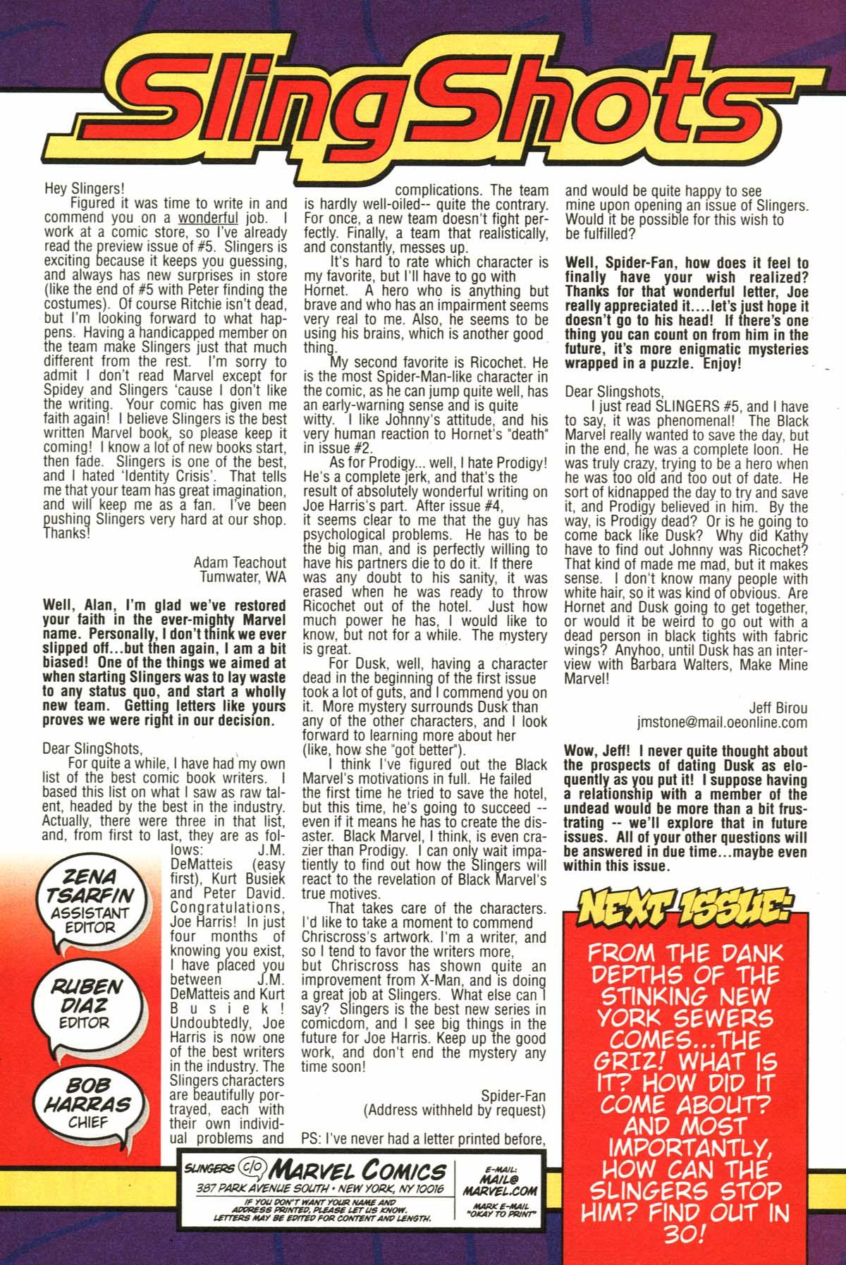 Read online Slingers comic -  Issue #6 - 25