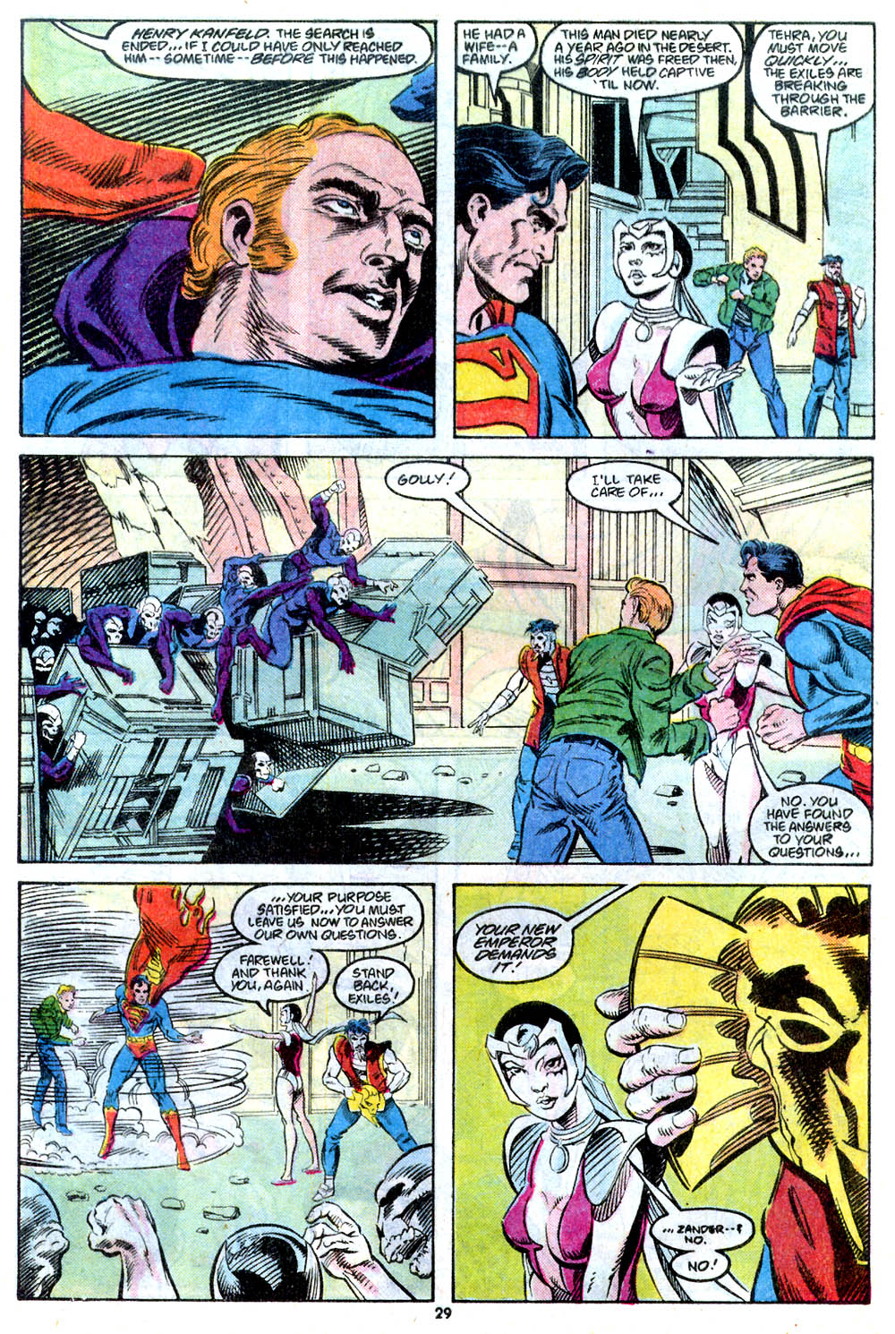 Read online Adventures of Superman (1987) comic -  Issue #443 - 31
