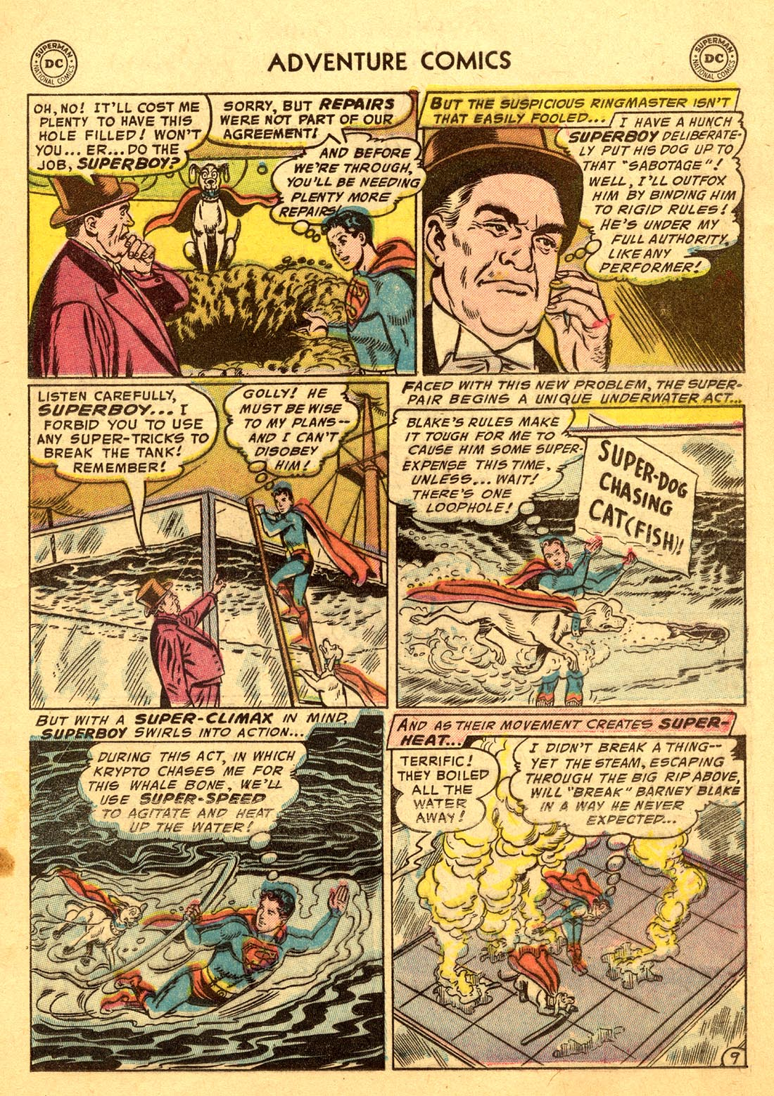Read online Adventure Comics (1938) comic -  Issue #220 - 11