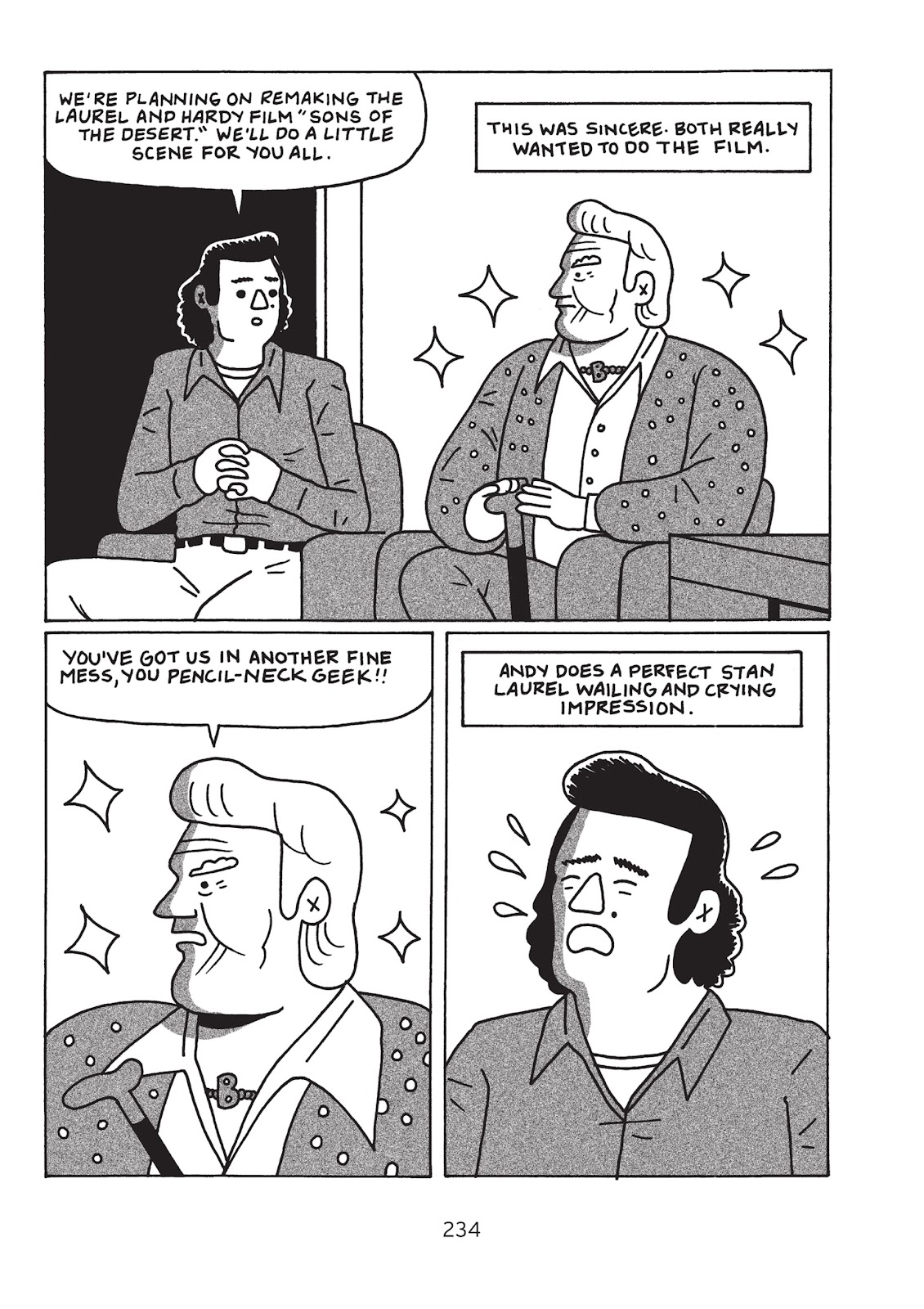 Read online Is This Guy For Real?: The Unbelievable Andy Kaufman comic -  Issue # TPB (Part 3) - 39