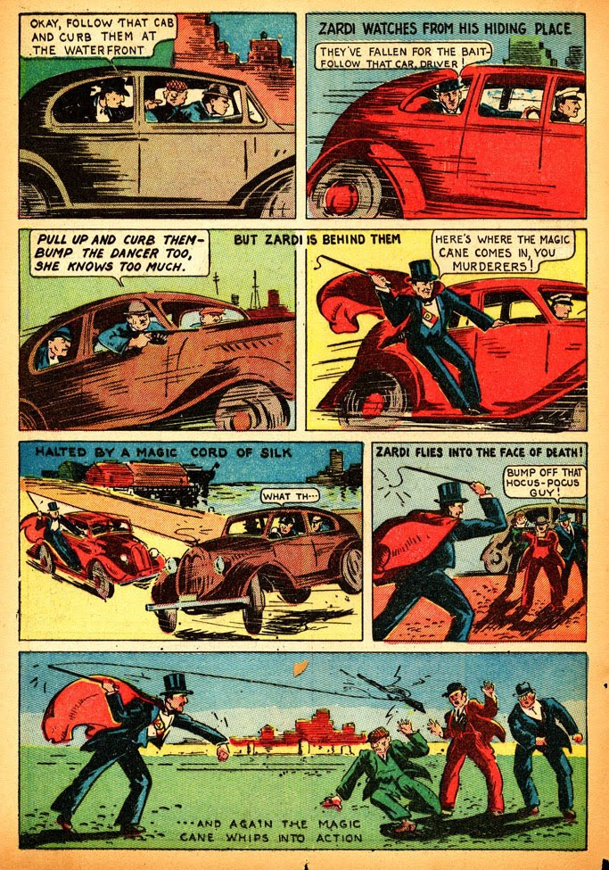 Read online Amazing Man Comics comic -  Issue #12 - 30