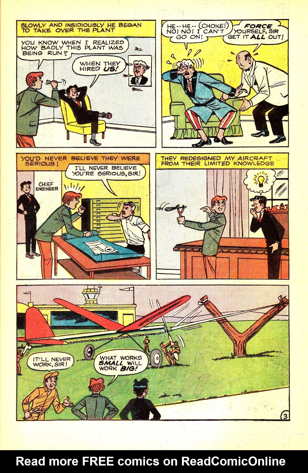 Read online Archie (1960) comic -  Issue #165 - 14