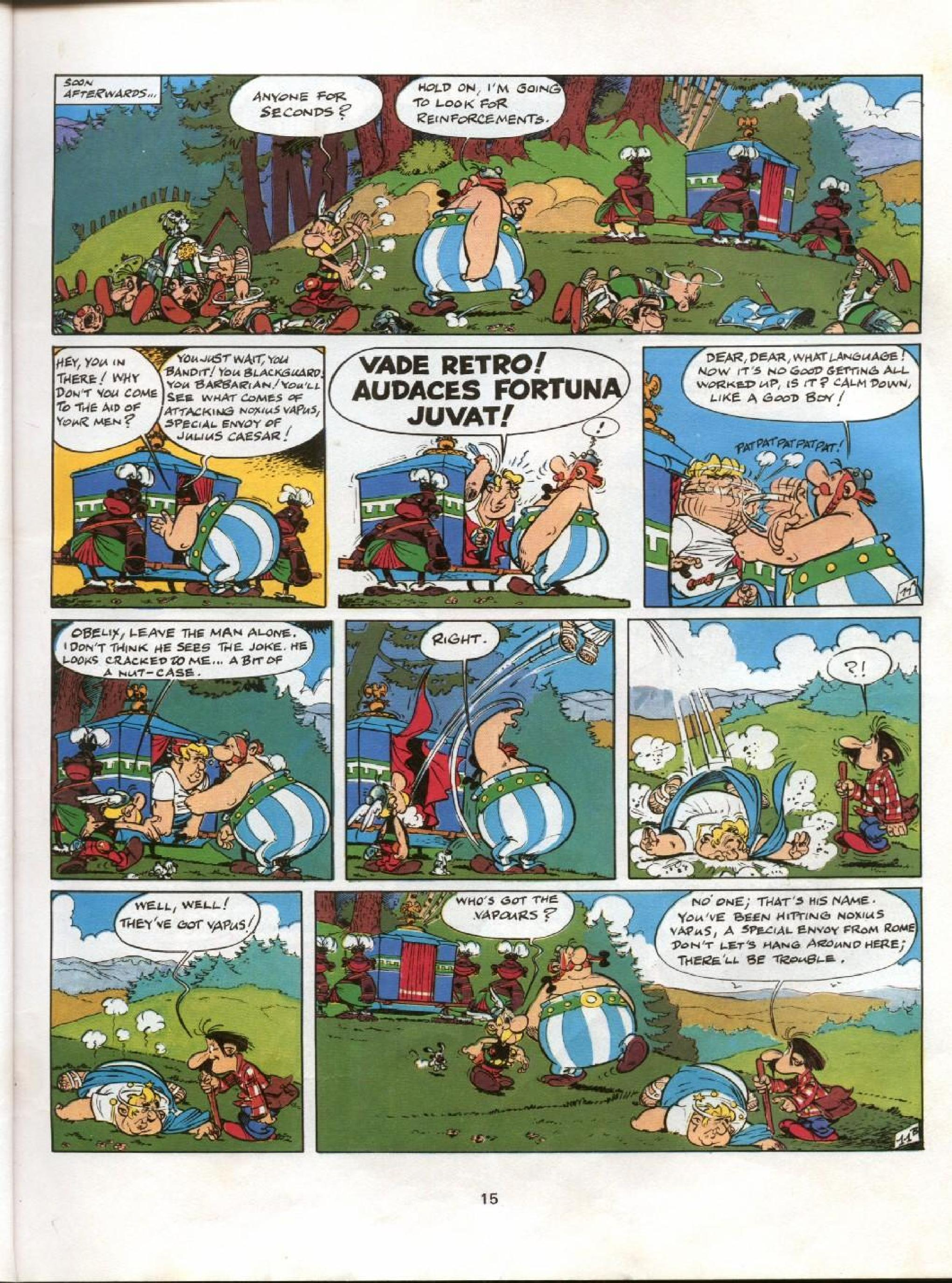 Read online Asterix comic -  Issue #11 - 12