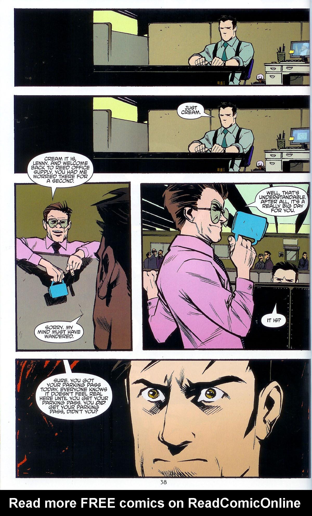 Read online Angel: Masks comic -  Issue # Full - 40