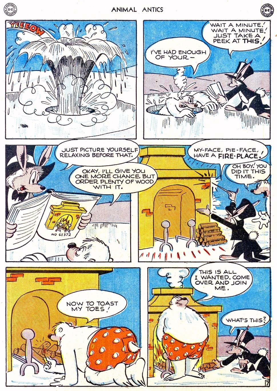 Read online Animal Antics comic -  Issue #4 - 9