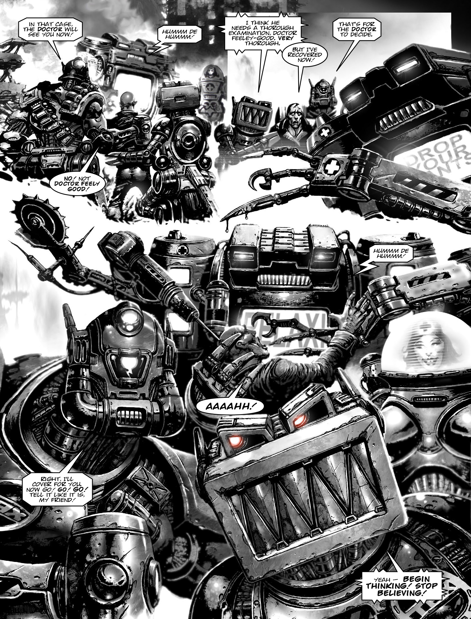 Read online 2000 AD comic -  Issue #1965 - 17