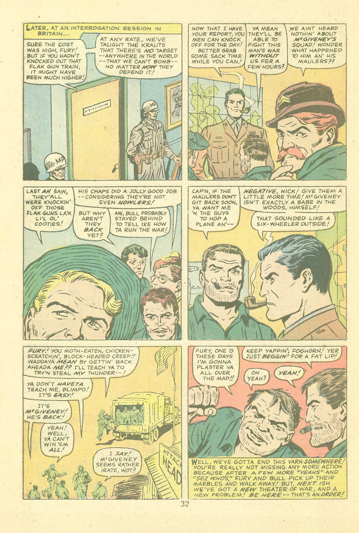 Read online Sgt. Fury comic -  Issue #124 - 34