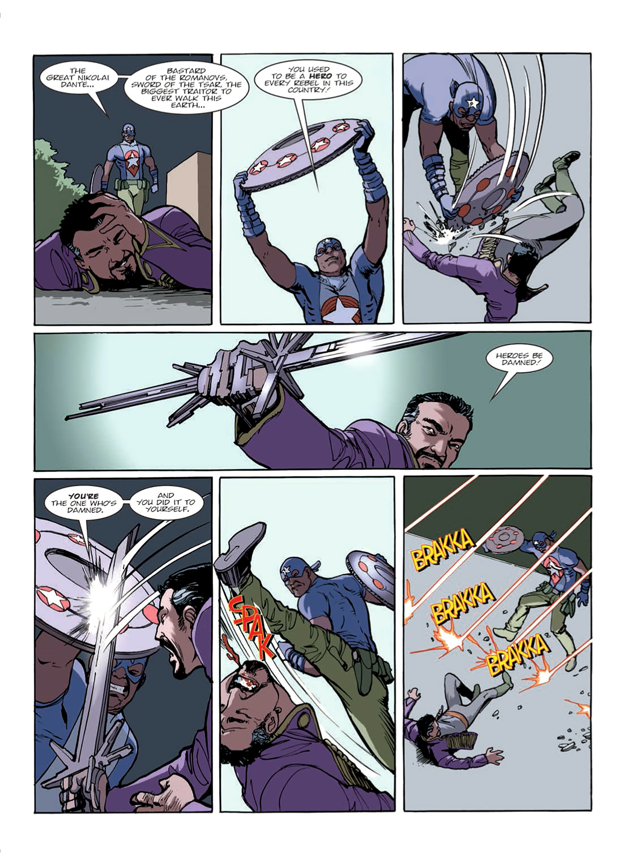 Read online Nikolai Dante comic -  Issue # TPB 9 - 28