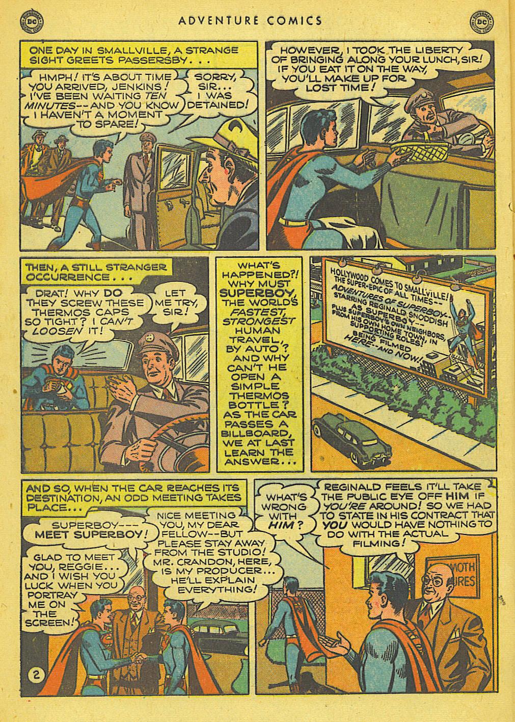 Read online Adventure Comics (1938) comic -  Issue #155 - 4
