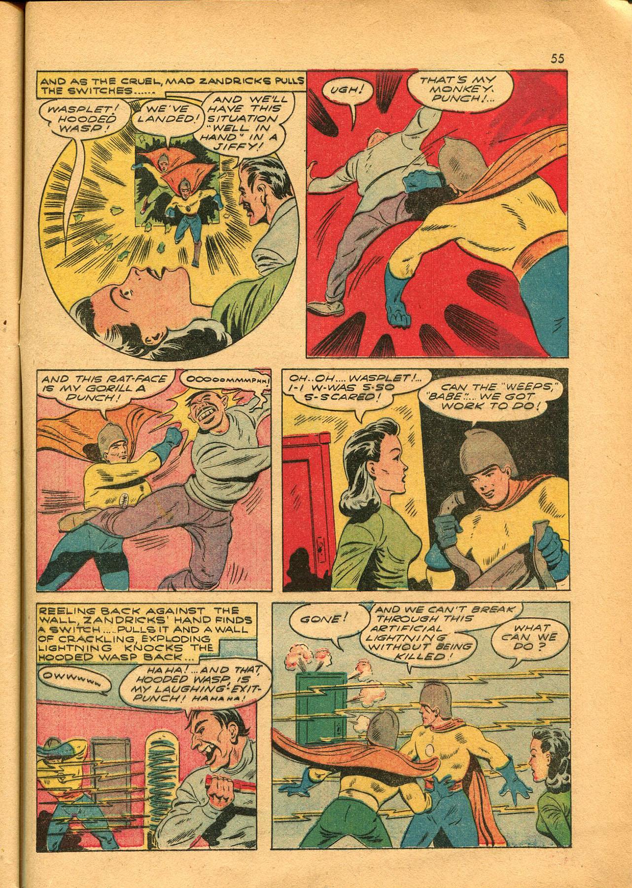 Read online Shadow Comics comic -  Issue #23 - 55