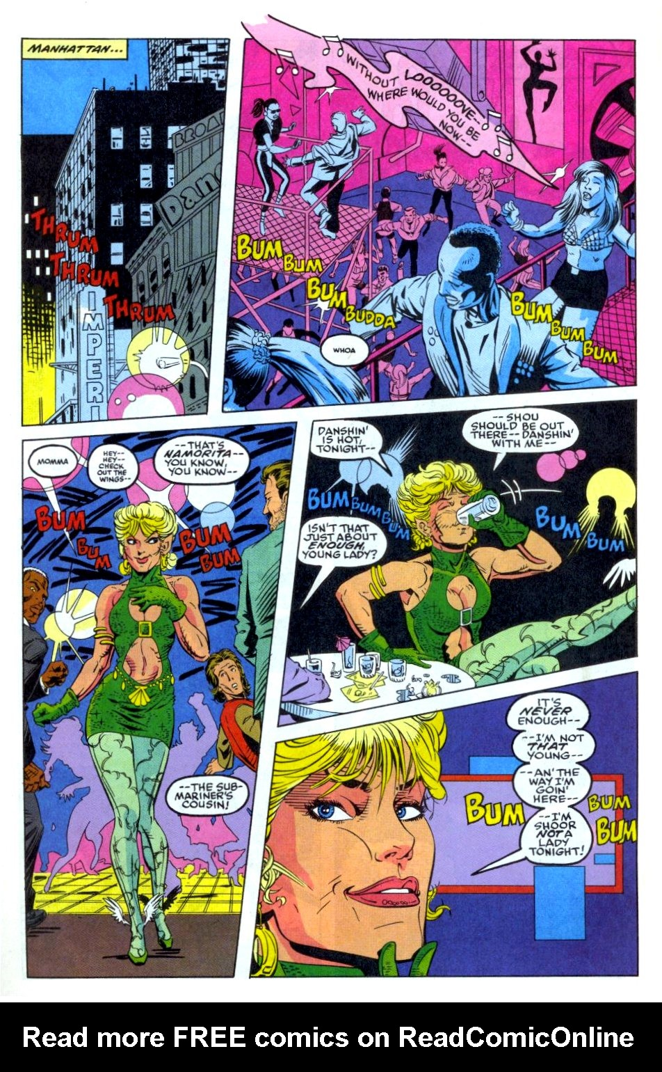 The New Warriors Issue #35 #39 - English 17