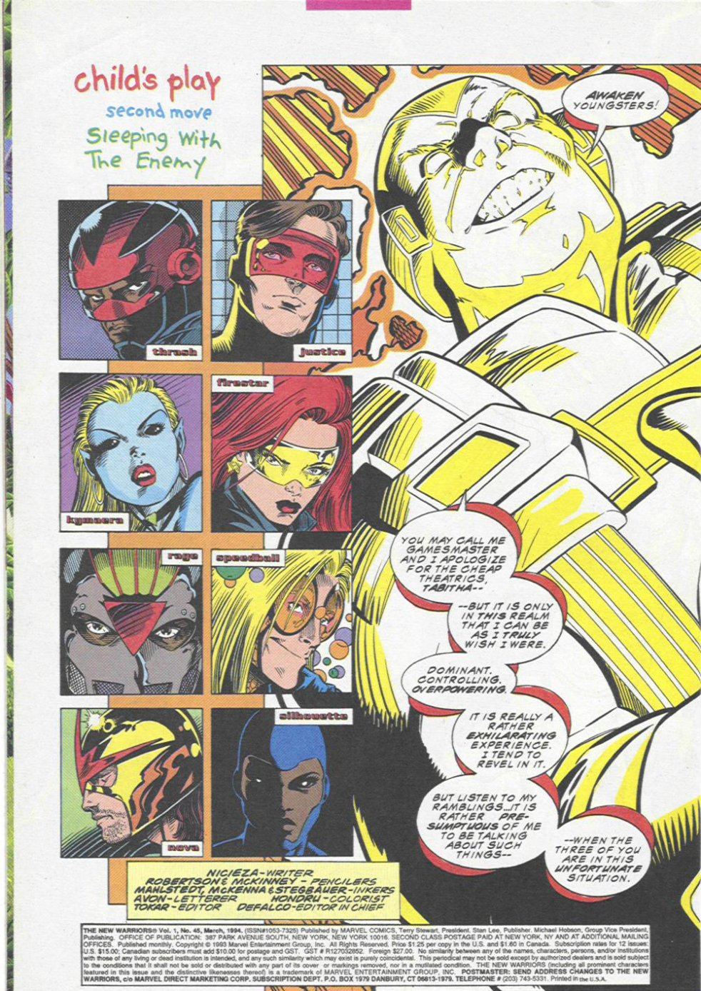 The New Warriors Issue #45 #49 - English 3