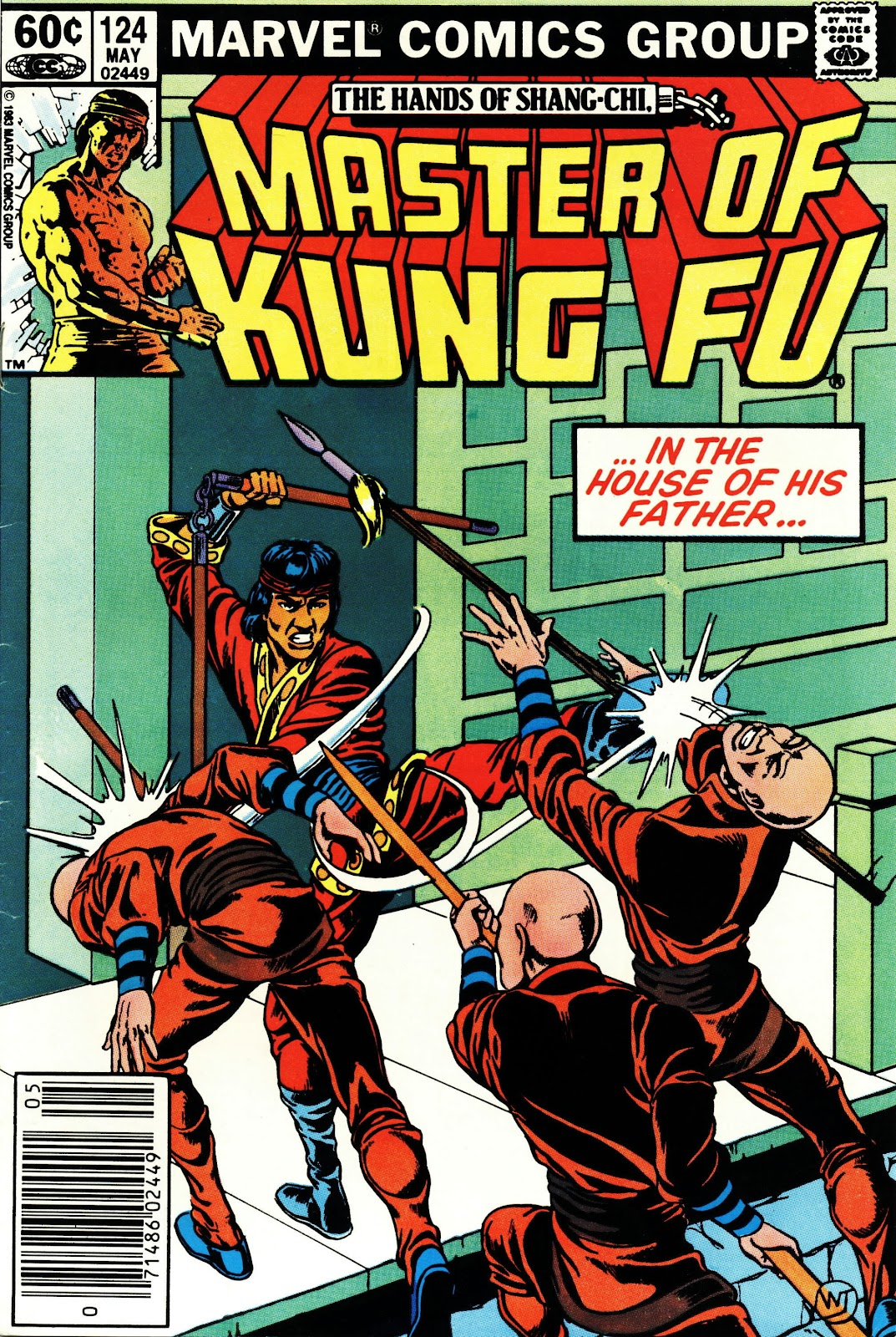 Master of Kung Fu (1974) issue 124 - Page 1