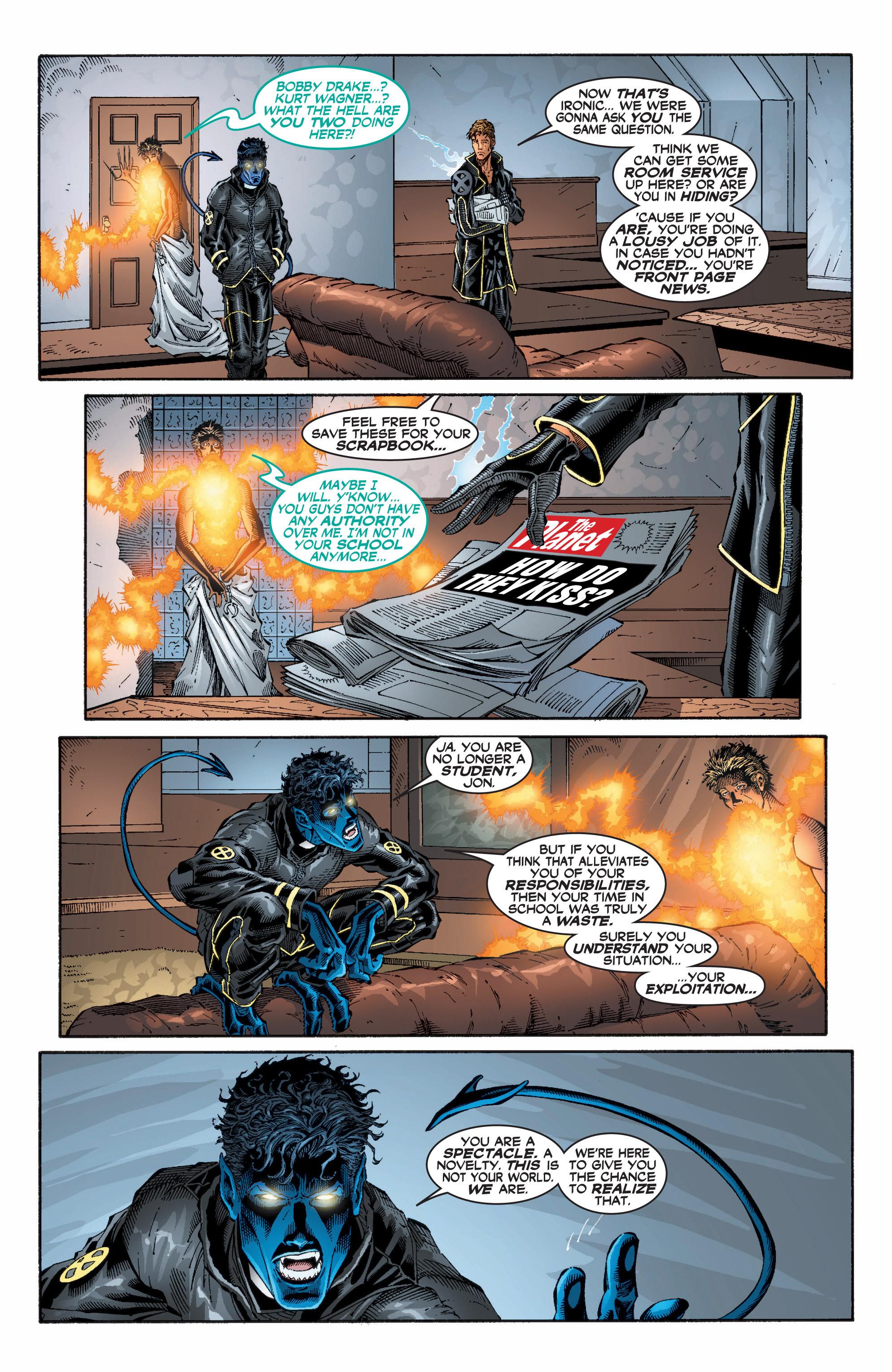Read online Uncanny X-Men (1963) comic -  Issue #396 - 9