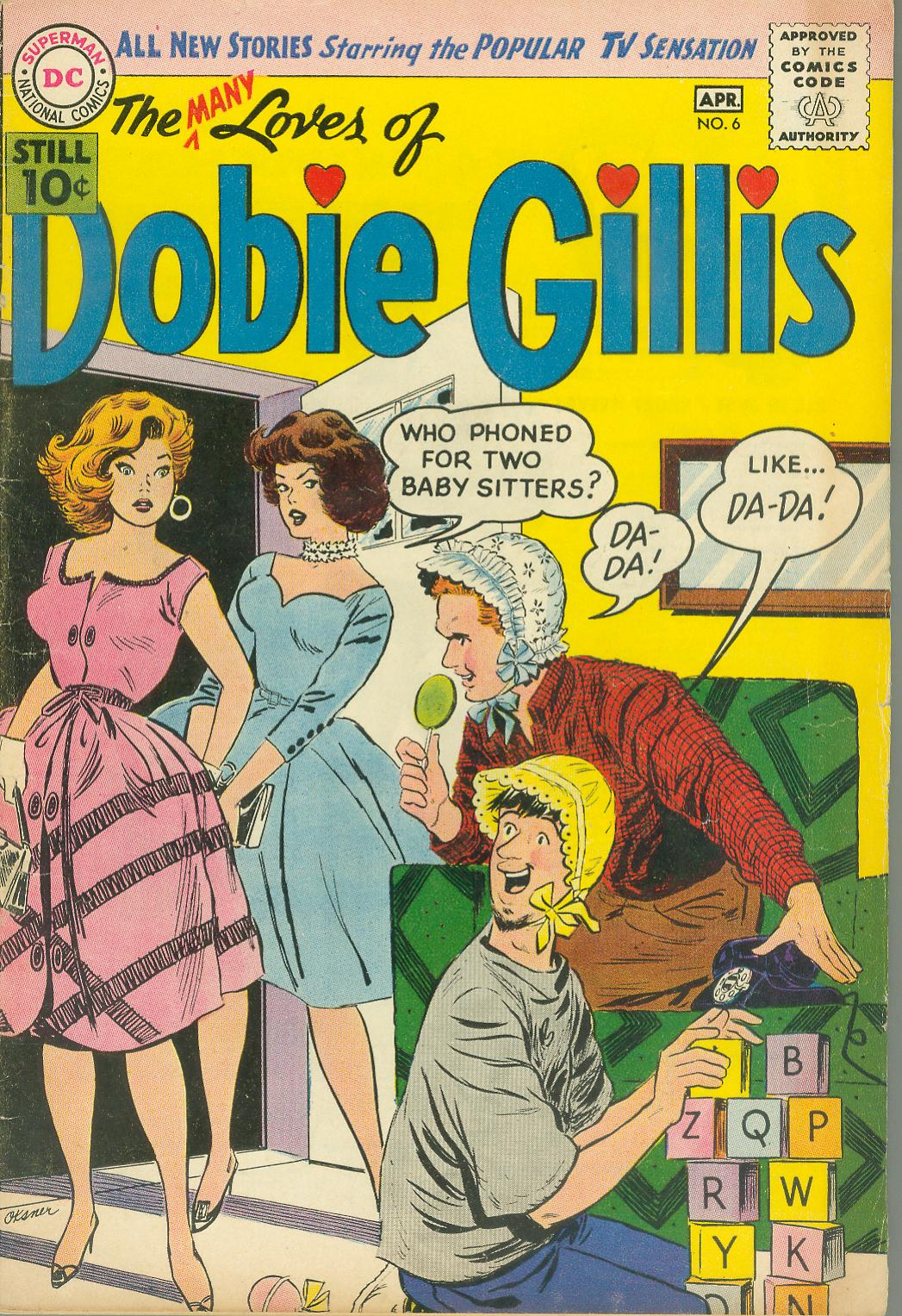 Many Loves of Dobie Gillis issue 6 - Page 1