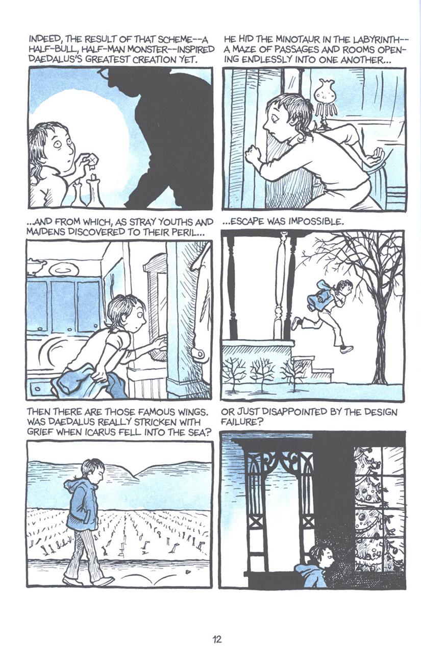 Read online Fun Home: A Family Tragicomic comic -  Issue # TPB - 19