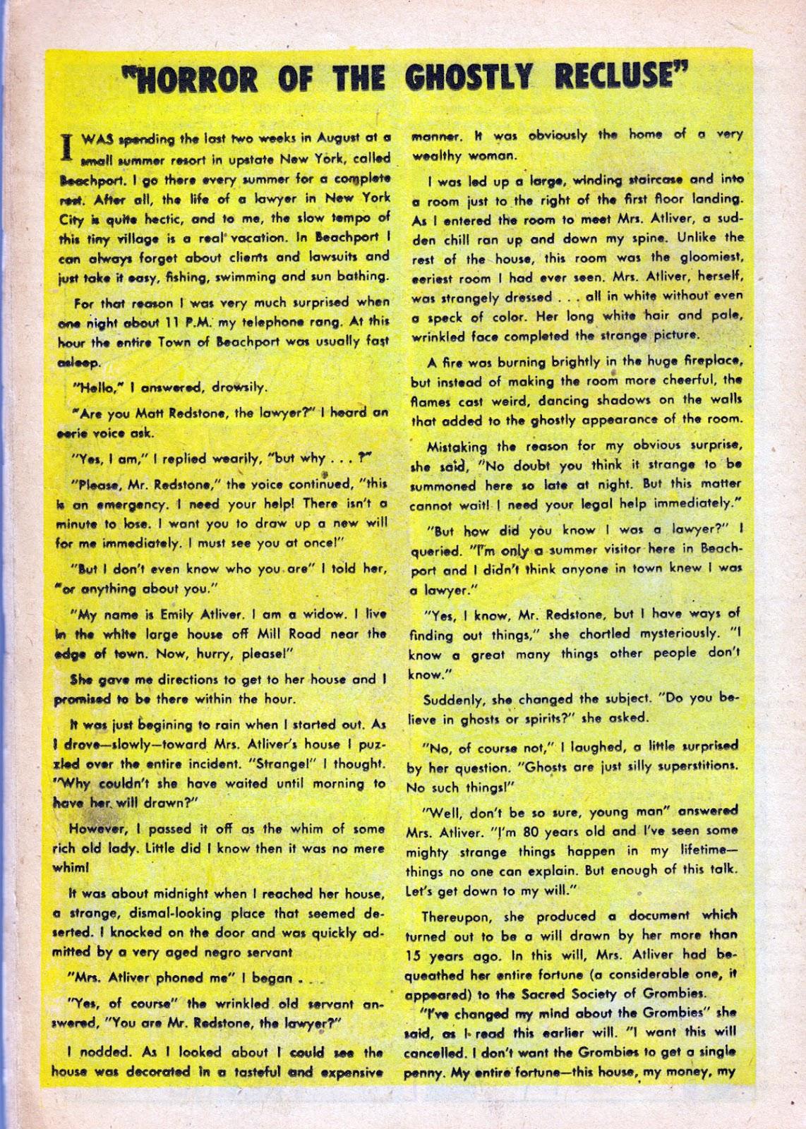 Dark Mysteries issue 1 - Page 18