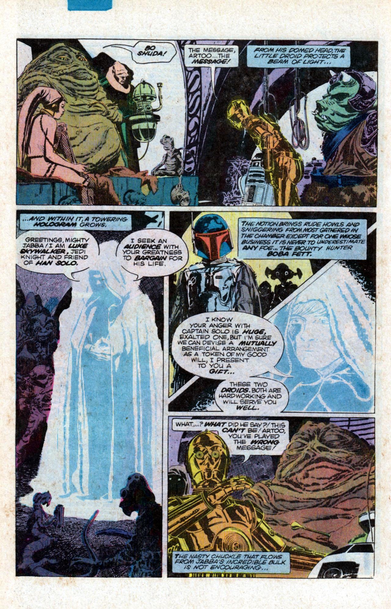 Read online Star Wars: Return of the Jedi comic -  Issue #1 - 10