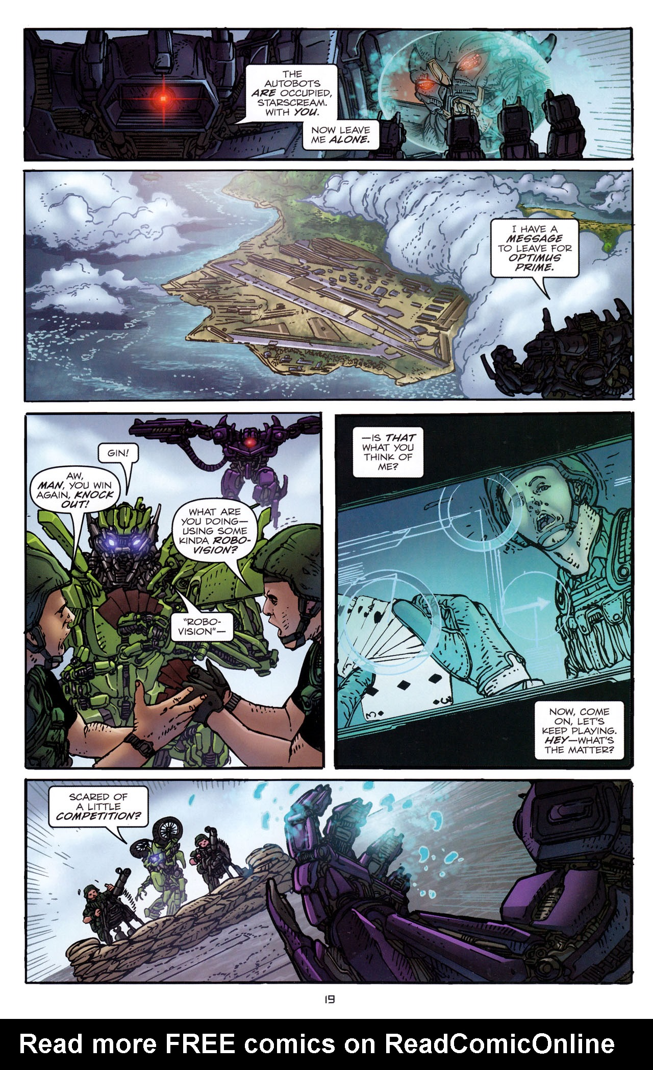 Read online Transformers: Dark of the Moon Rising Storm comic -  Issue #3 - 20