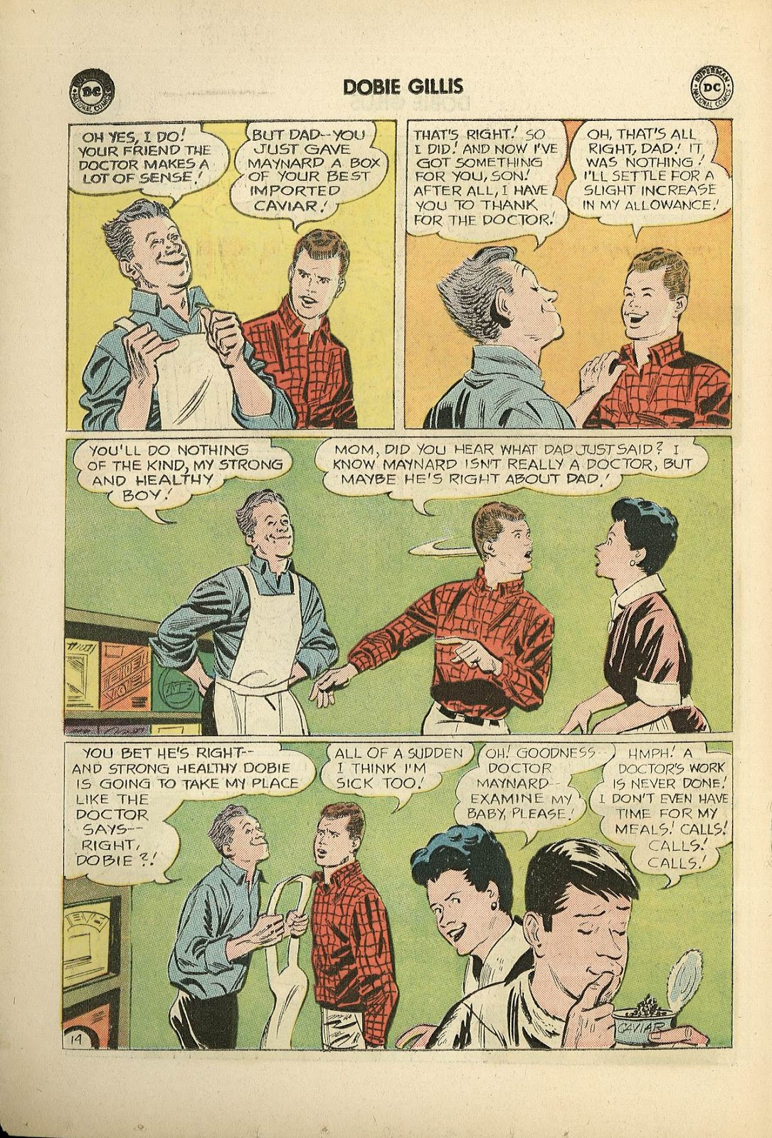 Many Loves of Dobie Gillis issue 22 - Page 18